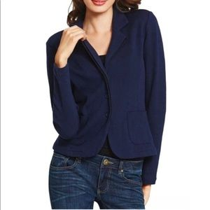 Cabi Breakthrough Sweater Blazer #902 Size M Navy